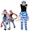 Nanbaka Uno Prisión N° 11 de Ropa Cosplay Costume Set Completo con Accesorios detentionhouse
