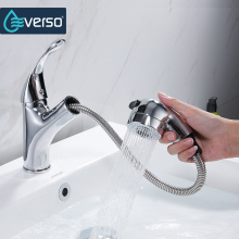 Hot Sale Brass 360 Swivel Kitchen Faucet Pull Out Sink Mixer Tap Kitchen Taps Single Handle Torneira De Cozinha