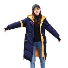2017 Winter Brand Coat Overcoat Women Long Warm Parkas Hooded Two Sided Wear Thick Jacket Women Clothing Female Coats