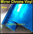 Free shipping high quality car wrap vinyl 1.52m*0.3m*0.18mm car wrap chrome with bubble free B-008