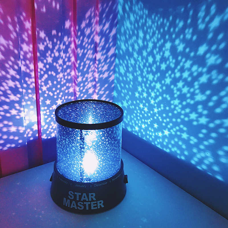 Led Night Light Projector Starry Sky