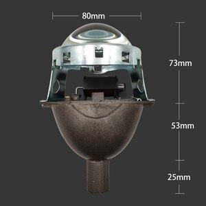 Image 2 - SZDS Auto phare 3.0 pouces bi xénon projecteur lentille Koito Q5 installation sans perte modification Non destructrice H1 H3 H4 H7 H11