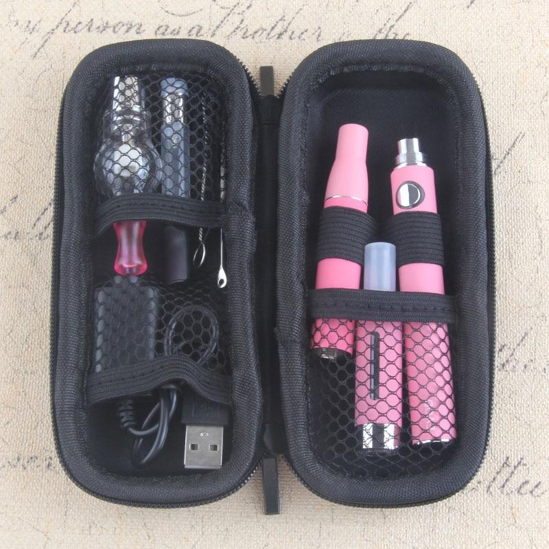 Yunkang EVOD mods 4 in 1 Pflanzliche Vaporizer Kit Elektronische zigarette Kit eingebaute Batterie mit zerstäuber wachs trockenen kraut Vape stift