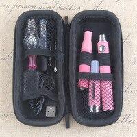 EVOD 4 In 1 Herbal Vaporizer Kit Electronic Cigarette Zipper Bag Kit Built In Battery With