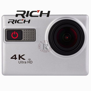 RICH Action Camera F68 F68R Novatek 96660 Voice Features 170D Wide Angle 4K 2 Inch HDMI Waterproof Go Pro Style Sport Camera image