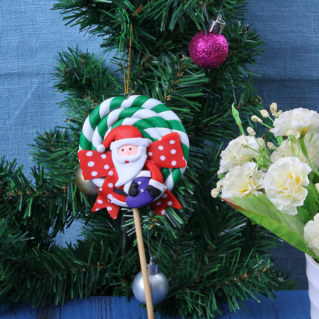 small crutches candy xmas ornaments christmas tree decoration hanging ornament kid gifts party new year holiday - Candy Christmas Ornaments