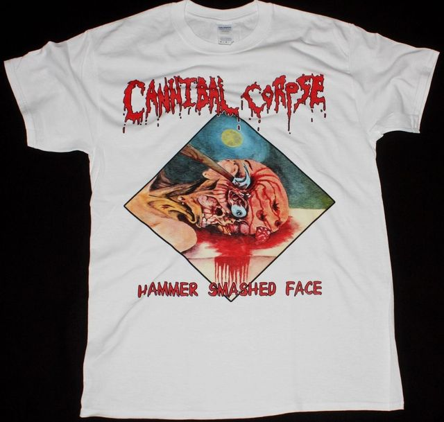 Fracassato Corpse Cannibal Metal Martello Barnes Faccia Chris Death dxthsQrC