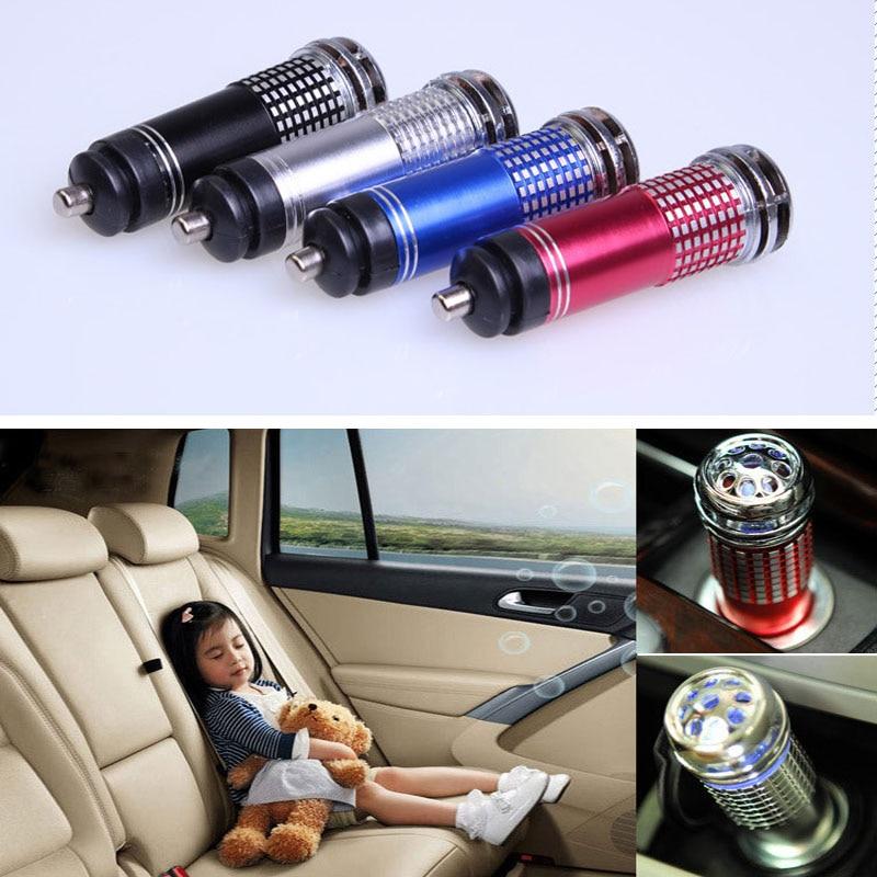 Mini Auto Car Home Fresh Air Ionic Purifier Oxygen Bar Ozone Ionizer Cleaner  #