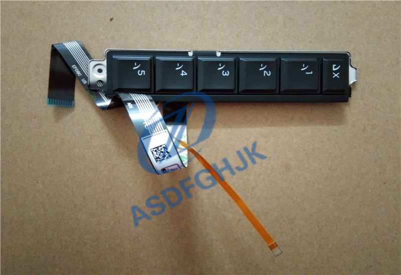 Computer Cables & Connectors Beautiful Original Laptop Parts For Dellfor Alienware 17 R4/r5 15 R3/r4 Hotkeys Function Keyboard With Backlight Ndhkh 0ndhkh 100% Test Ok