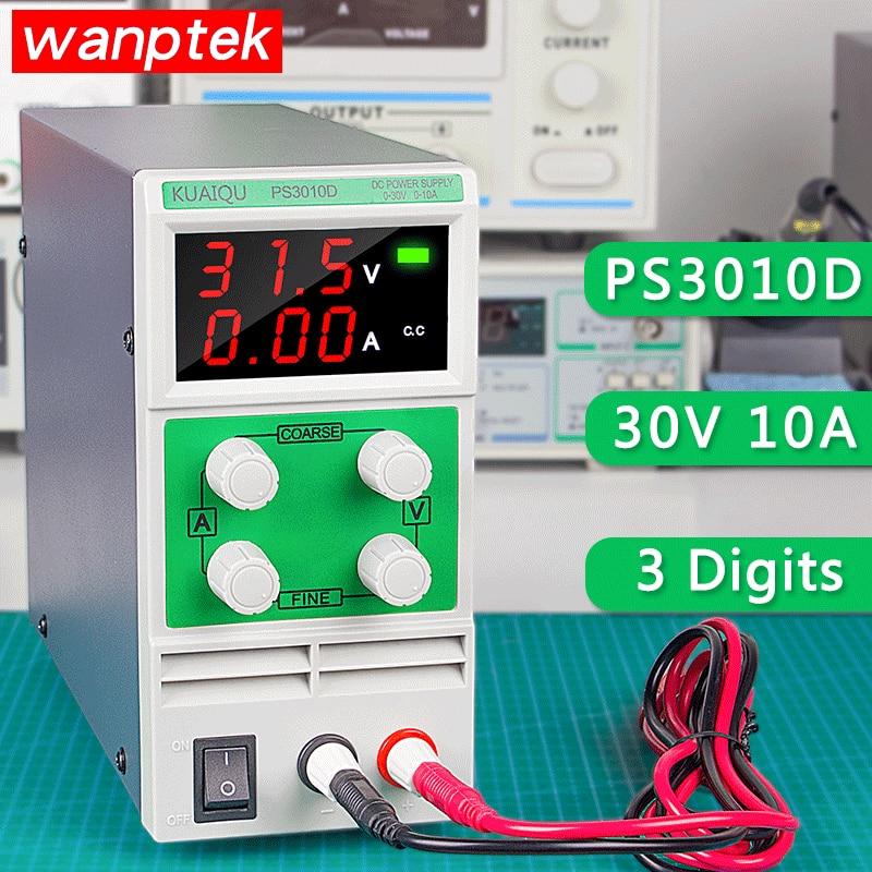 Single Phase Adjustable SMPS DC Power Supply Switch Laboratory 30V 10A 3 Digital Voltage Regulator Mini PS 3010DSingle Phase Adjustable SMPS DC Power Supply Switch Laboratory 30V 10A 3 Digital Voltage Regulator Mini PS 3010D