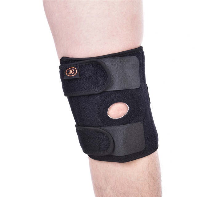 d893bcce0e2 placeholder Knee Support Open-Patella Stabilizer with Adjustable Strapping    Extra-Thick Breathable Neoprene Sleeve
