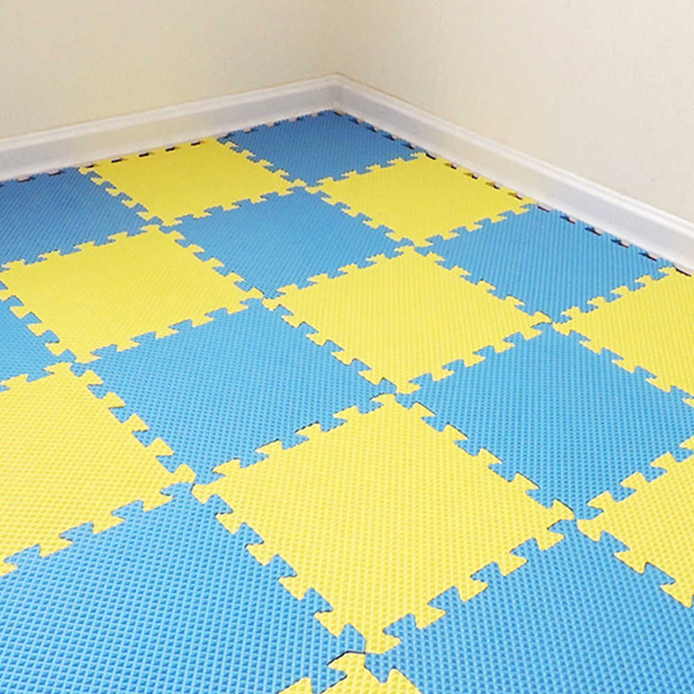 10 шт. детский игровой коврик головоломка вспененный этилвинилацетат детские головоломки блокировки напольный для упражнений коврик для ребенка