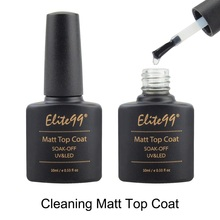 Elite99 10ml Metallic Top Coat Base Coat Top Coat Matte Top Shiny Gel Polish Soak Off No Cleaning Matte Top Coat Primer Lacquer