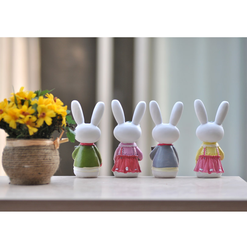 fu garden resin handicraft doll ornaments at merrill partition decorations couple miffy size in figurines miniatures from home garden on aliexpresscom - Fu Garden