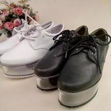 Spring new arrival personality cute shoes transparent bottom can be put ornaments girls shoes thick bottom platform shoes women