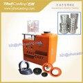 4L Mini máquina de carcaça, 220 V, com peças de reposição, equipamentos com bomba de vácuo no interior