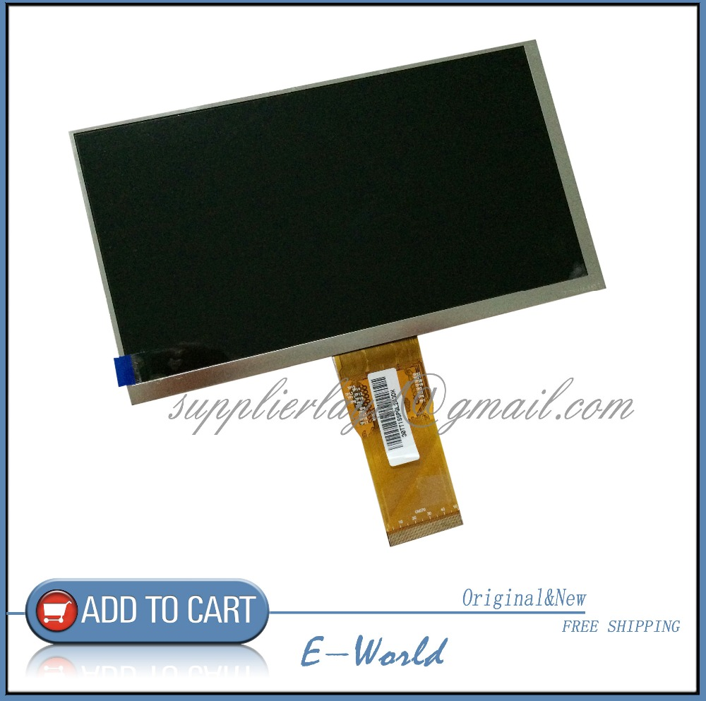 New LCD Display 7 Digma 7 0 TT702M 3G TABLET Tablet LCD Display Screen Panel Free
