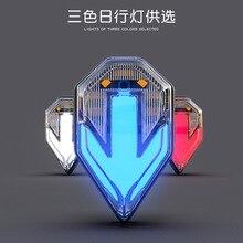 Светодиодный фонарь для мотокросса, модифицированные аксессуары для укладки, SPIRIT BEAST CB190, мотоциклетные сигнальные огни, 12 В, Водонепроницаемые огни