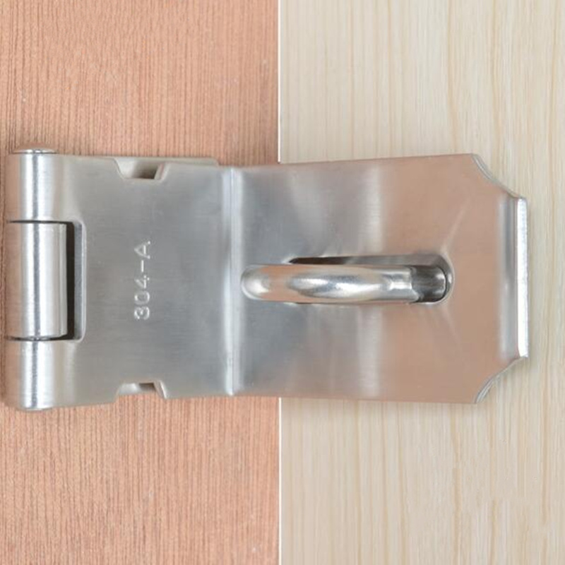 90 Degree Right Angle Door Buckle Lock 304 Stainless Steel