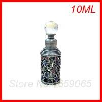 높은 품질 10 미리리터 에센셜 오일 병 향수 샘플 병 화장품 포장 유리 병 작은 pefume 분무기 용기