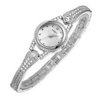 Famous Brand Women Luxury Rhinestone Watch YAQIN Quartz Watch Summer Fashion Ladies Bracelet Watches Womens Wristwatches