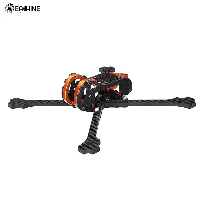 Eachine Tyro99 210mm DIY Version FPV Racing Frame Kit 3K Carbon Fiber & 6065 Aluminium diy carbon steel oval frame cutting dies