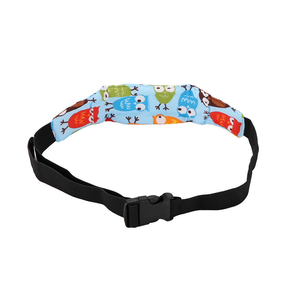 Image 4 - Practical Safety Baby Kids Stroller Car Seat Sleep Nap Aid Head Fasten Support Holder Belt Head Support Holder Sleep Belt Owl-in Seat Belts & Padding from Automobiles & Motorcycles