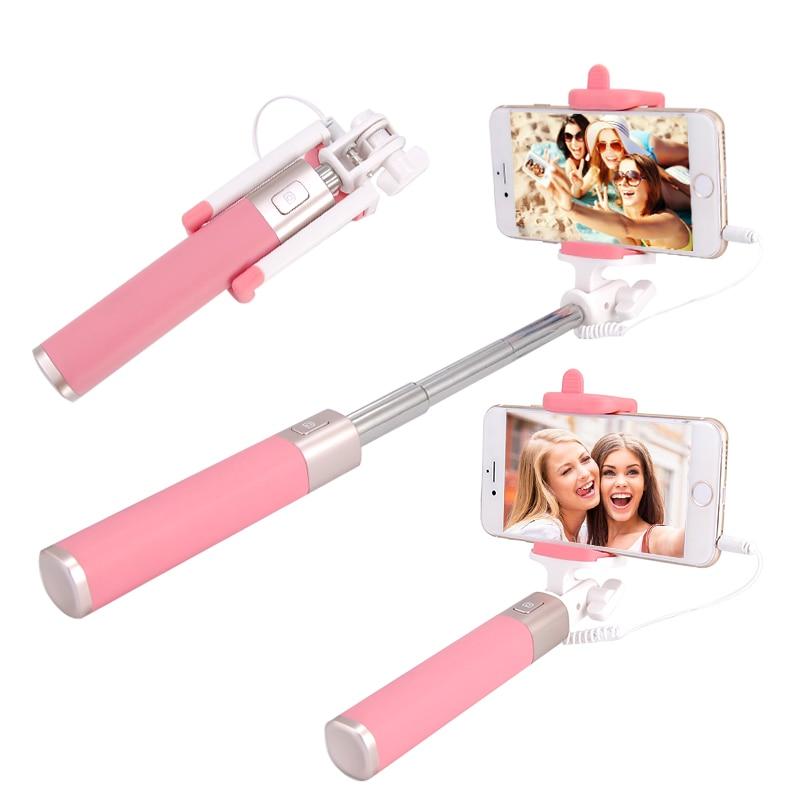 Selfie-stöcke Selfie-sticks & Hand-tragbügel Warnen Mini Wired Selfie Stick Erweiterbar Para Selfie Für Iphone 6 6s Plus 5 5s Se 4 Handheld Monopod Palo Selfie Für Samsung S7 S6 S8 PüNktliches Timing