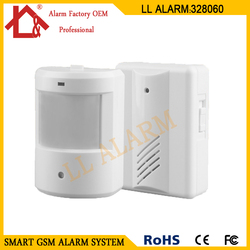 Wireless detector alarm driveway patrol garage infrared wireless ir remote security doorbell alarm system motion sensor.jpg 250x250