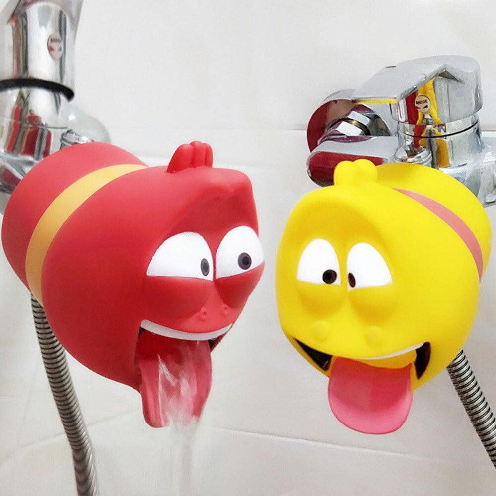 Bath Toy fun Water saver Baby Kids Hand Washing Bathroom Sink Washbasin Shower kid Extender baby careBath Toy fun Water saver Baby Kids Hand Washing Bathroom Sink Washbasin Shower kid Extender baby care