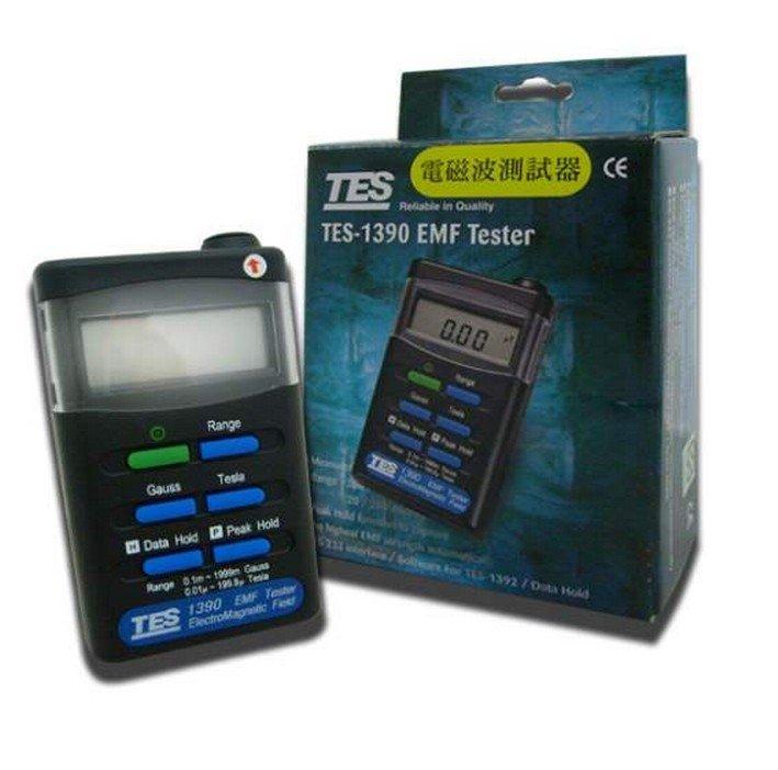 New TES TES1390 TES-1390 EMF Tester Gauss Electromagnetic Field Meter tes 1390 electrosmog meter emf meter