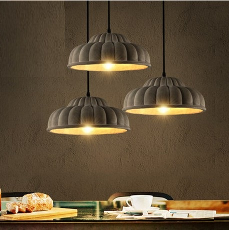Industrial Loft Style Creative Cement Droplight Edison Vintage Pendant Light Fixtures For Dining Room Hanging Lamp Lampara vintage loft industrial edison flower glass ceiling lamp droplight pendant hotel hallway store club cafe beside coffee shop