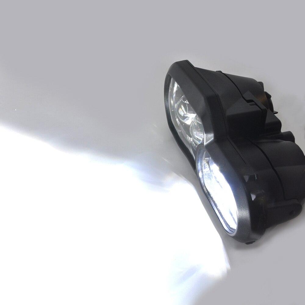 Marque E9 pour BMW F700GS F800GS Adv F800 GSA complet projecteur LED phare assemblage phare Angle oeil feux de jour - 6