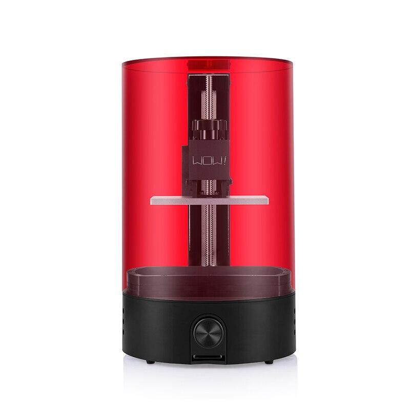 3d imprimante WOW sparkmaker lumière durcissement UV Résine SLA! DLP! LCD 3d imprimante/express gratuite de Moscou Russe entrepôt