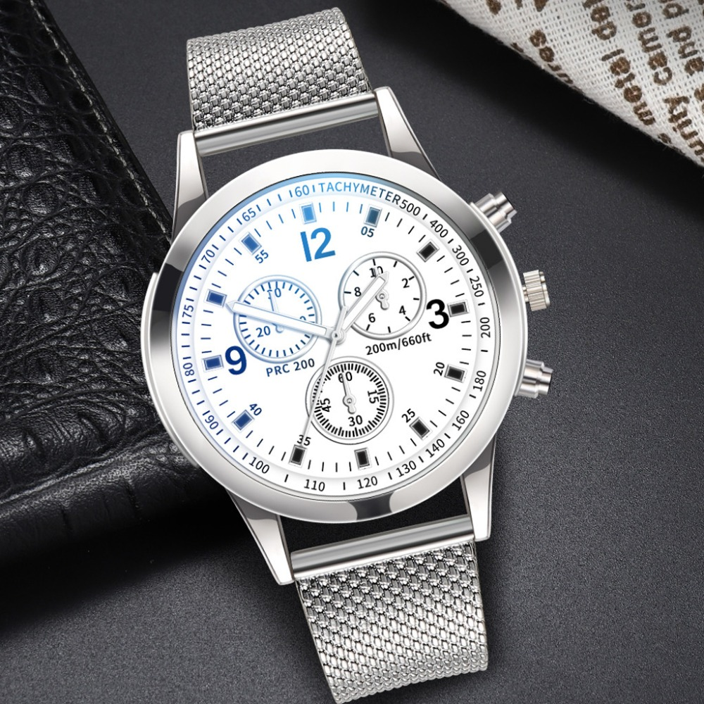 Man's Womens Quartz Analog Wrist Delicate Watch Clock Mens Watches Top Brand Business Watches  Masculino 5