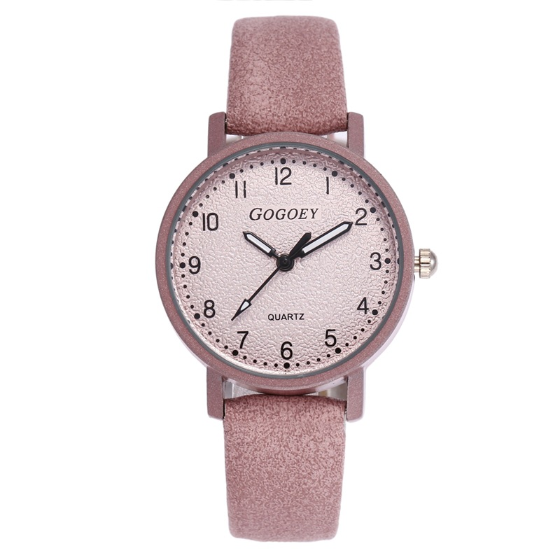 2018 Luxury Brand Gogoey Women's Watches Leather Wrist Watch Women Watches Ladies Watch Mujer Bayan Kol Saati Montre Feminino newly design dog pug watch women girl pu leather quartz wrist watches ladies watch reloj mujer bayan kol saati relogio feminino