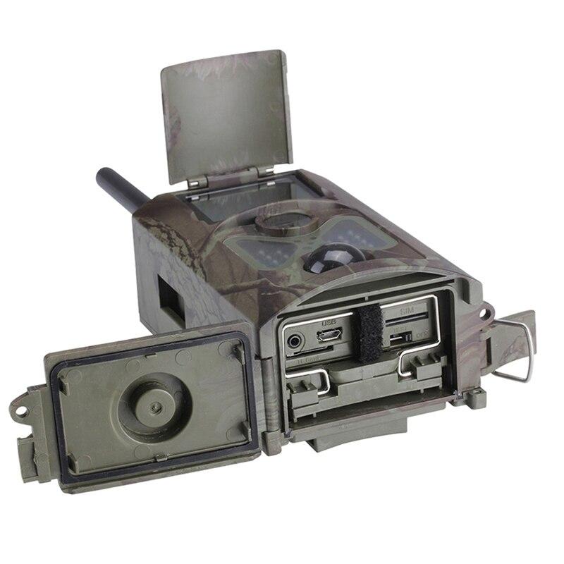 Цена за Новый Открытый Охота HC500M HD 12MP След Камера GSM GPRS Управления Скаутинг Инфракрасный Охота На Диких Животных Камеры На Открытом Воздухе