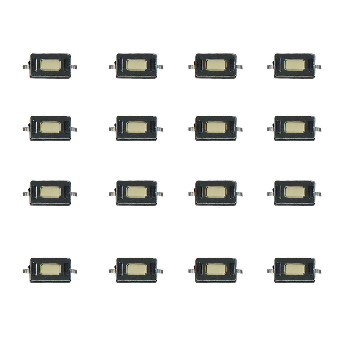 50Pcs 3*6*2.5 SMD 2pin Touch Microswitch Tact Switch Push Button Switch for Car Remote Control LCD
