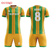 b0fe1be88ca authentic big plus size and tall bulk striped cheap soccer jerseys(China)