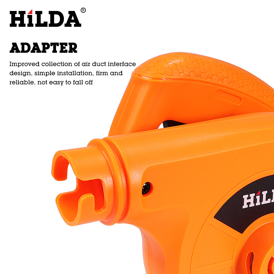 Image 5 - HILDA 600W  Air Blower Computer cleaner Electric air blower dust Blowing Dust  Computer Dust Collector blower-in Blowers from Tools on
