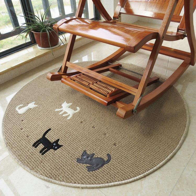 Round Coffee Table Jove Collection By Baxter Design: Round Carpet Four Cats Modern Brief Coffee Table Sofa