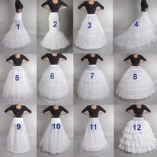 LAMYA Свадебный подъюбник кринолин скольжения Свадебный подъюбник платье обруч винтажные слипоны для свадебного платья