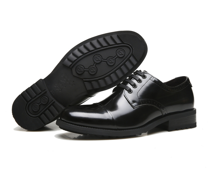 ECCO Brand New Arrival Fashion Men Shoes Party and Wedding Men Dress Shoes Black Formal Male Oxford Shoes 623535 8