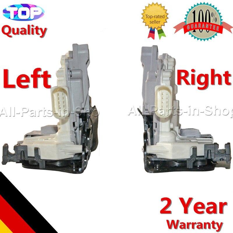 8J1837015A 8J2837016A Pair Front Right Left Door Locks For Audi A4 Allroad A5 Q3 Q7 TT