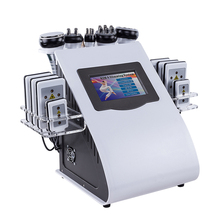 New Model 40k Ultrasonic liposuction Cavitation 8 Pads LLLT