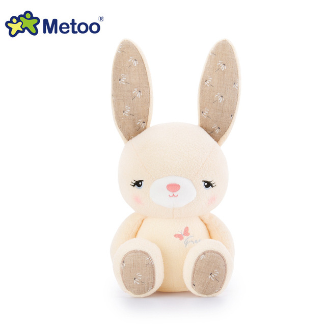 1Pcs Rabbit Elephant Kawaii Plush Stuffed Animal Cartoon Kids Toys for Girls Children Baby Birthday Christmas Gift Metoo Dolls