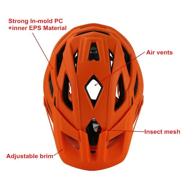 2018 novo cairbull ciclismo capacete trail xc bicicleta capacete in-mold mtb bicicleta capacete casco ciclismo estrada capacetes de montanha boné de segurança 4