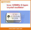 Fast Free Ship Custom made tcxo 125MHz 0.1ppm  temperature-compensation crystal oscillator TCXO