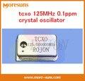 Fast Ship Livre Custom made cristal oscilador TCXO tcxo 125 MHz ppm temperatura-compensação