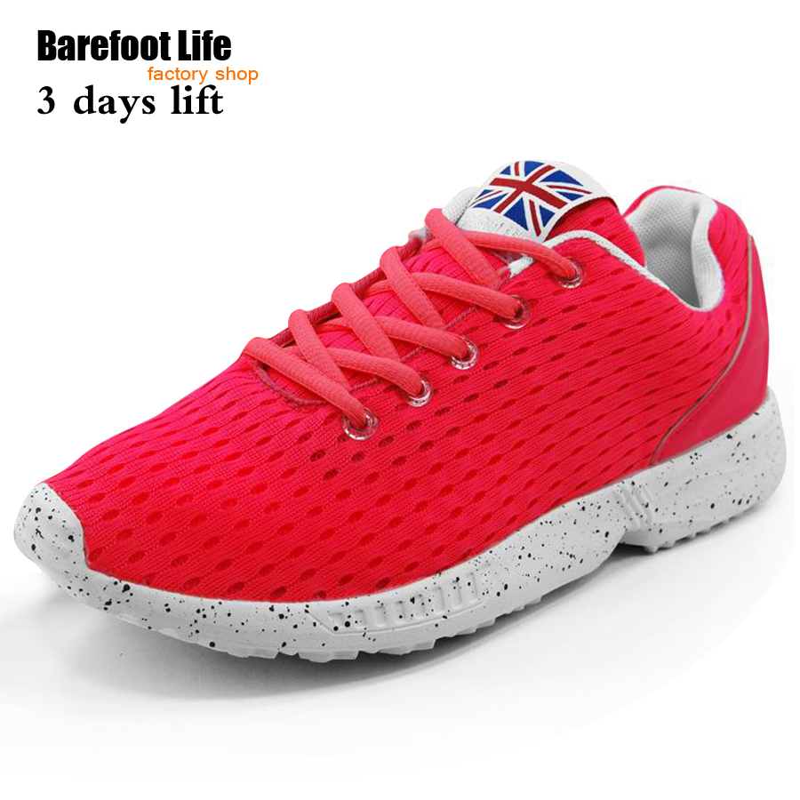 ピンクアッパー空気mesn通気性スポーツランニングシューズ女性と男性、新しいデザインスニーカー運動靴.